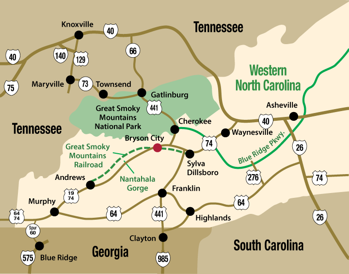 Smoky Mountain Getaways Cherokee Nc Cabin Rental