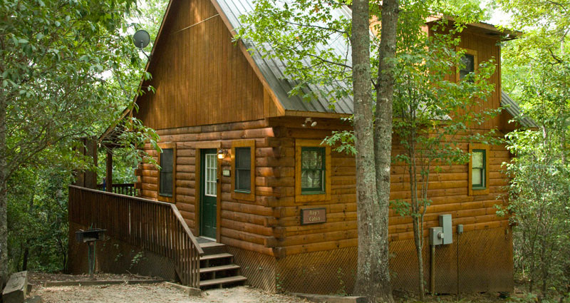 rental cabin in the woods